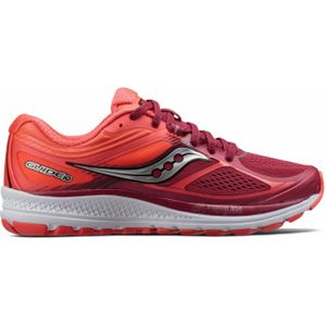 running femme SAUCONY Saucony - Guide 10 Femmes chaussure de course (rose/corail)