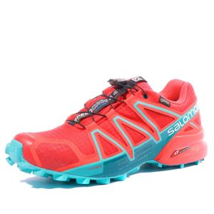 Mode- Lifestyle femme SALOMON Speedcross 4 GTX Femme Chaussures Trail Rouge Salomon