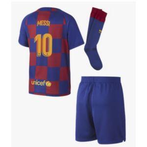 Football enfant NIKE Mini-Kit Officiel Nike FC Barcelone Domicile Flocage Messi Numéro 10 Saison 2019/2020