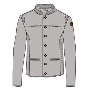 Urbain homme MALOJA MALOJA MilaunM. Alpine Wool Jacket Grey