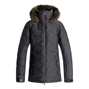 veste de ski roxy quinn jacket achat et prix pas cher. Black Bedroom Furniture Sets. Home Design Ideas