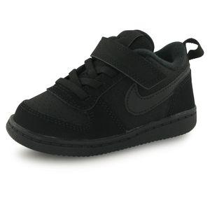 Mode- Lifestyle enfant NIKE Nike Court Borough noir, baskets mode enfant