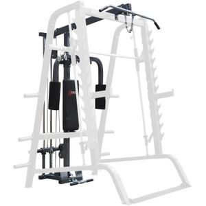 Musculation  DKN DKN Poulies haute/basse et Butterfly pour Smith Machine