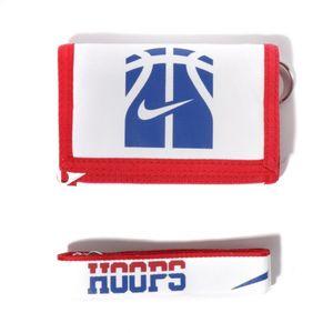 Mode- Lifestyle  NIKE Coffret Portefeuille/Porte-clé Hoops Basketball Blanc Nike