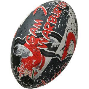 GENERIQUE BALLON DE RUGBY  Ballon de rugby SUPPORTER - Pays de Galles Sam Warburton - Taille 5