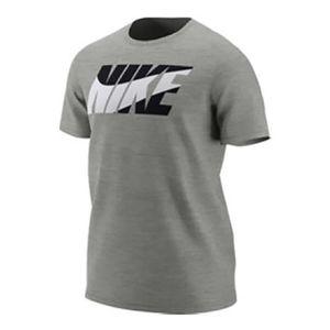 Urbain homme NIKE T-shirt Nike Dri-Fit SW manche courte gris noir blanc