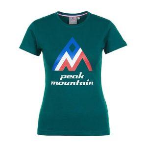 Mode- Lifestyle femme PEAK MOUNTAIN ACIMES-vert-L