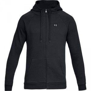 Mode- Lifestyle adulte UNDER ARMOUR Veste Zippé à capuche Under armour Rival Fleece Noir Pour Homme taille - S