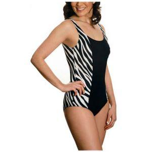 maillot de bain amincissant zebre s noir achat et prix pas cher go sport. Black Bedroom Furniture Sets. Home Design Ideas