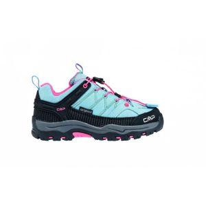 Randonnée homme CMP CMP - Rigel Low WP chaussures de marche pour enfants (bleu clair/noir)