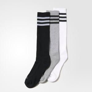 Fitness adulte ADIDAS Chaussettes montantes adidas 3-Stripes (lot de 3 paires)