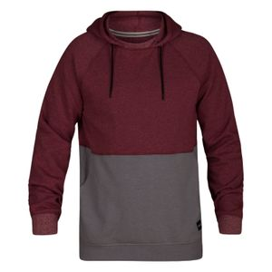 Multisport homme HURLEY Hurley M Crone Blocked Pullover Team Red Htr XXL
