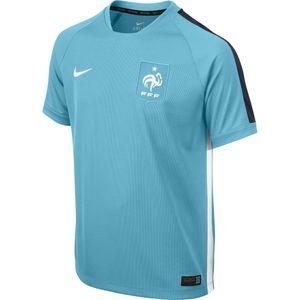 Football garçon NIKE Maillot de football Nike FFF 2015 Squad Training 2 Junior - 644061-401