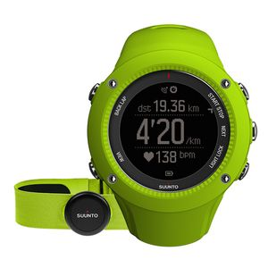 Objet connécté - high tech adulte SUUNTO Montre GPS Ambit 3 Run Lime (HR) Suunto