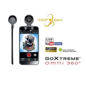 EASYPIX Caméra GoXtreme OMNI 360° pour smartphone