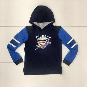 Mode- Lifestyle enfant NBA Sweat à capuche NBA Oklahoma City Thunder Block Action Bleu pour enfant Taille - L (155-165cm)