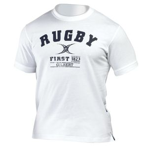 Rugby à XV homme GILBERT Tee-shirt Gilbert Tee Shirt First 1823