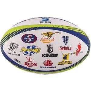 Rugby à XV  GILBERT Ballon rugby - Super Rugby Memorabilia - T5 - Gilbert
