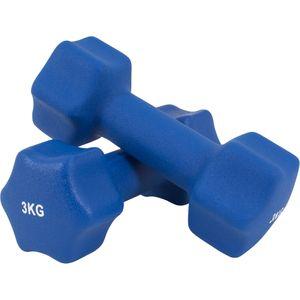 Musculation  GORILLA Gorilla Sports - Paire d'Haltères Fitness en néoprène - 8 paires disponibles - 2 x 0.5 kg à 2 x 5 kg