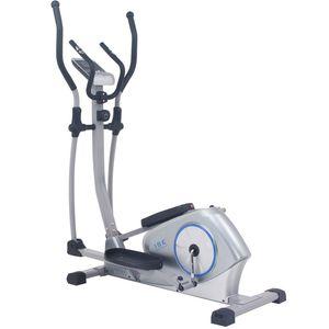 ISE Vélo elliptique magnétique Vélo d'appartement ergomètre Crosstrainer - Masse d'inertie 12kg - 8 Niveaux de Résistance SY-9608