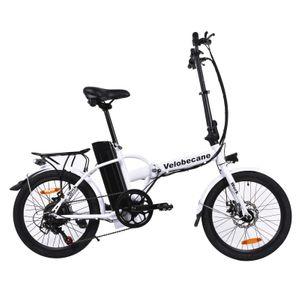 Cycle adulte VELOBECANE Vélo électrique Velobecane work blanc