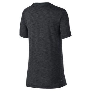 Mode- Lifestyle enfant NIKE Nike T-shirt Breathe Hyper Gfx Noir T-shirts Manches Courtes Enfant Multisports