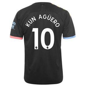 Football enfant PUMA Nouveau Maillot Puma Enfant Manchester City Away Flocage Officiel Agüero Numéro 10 Saison 2019/2020