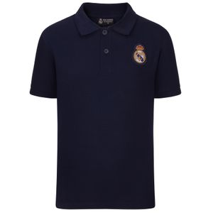 Football homme REAL MADRID Real Madrid officiel - Polo thème football - motif blason - homme