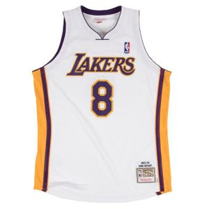Basket ball homme MITCHELL AND NESS Maillot Authentique Los Angeles Lakers Kobe Bryant 2003-04