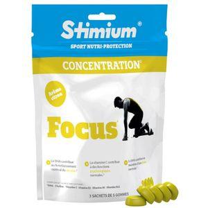 STIMIUM Gommes à mâcher Stimium Focus citron