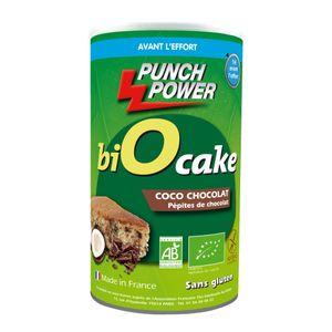PUNCH POWER Gateau énergétique Biocake Punch Power coco chocolat – 400g