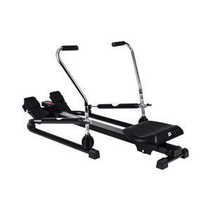Fitness  HOP-SPORT Rameur hydraulique Glide HS-050R  max.120 kg avec Ordinateur Hop-Sport Fitness home musculation bras cardio