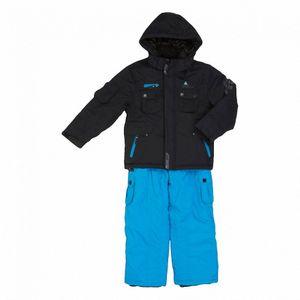 Ski alpin garçon PEAK MOUNTAIN Peak Mountain   Ensemble de ski garçon  ECARDIDEN   Noir/bleu