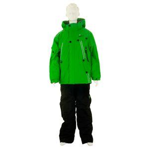 Ski alpin garçon PEAK MOUNTAIN Peak Mountain   Ensemble de ski homme ECLUZA   Vert/noir