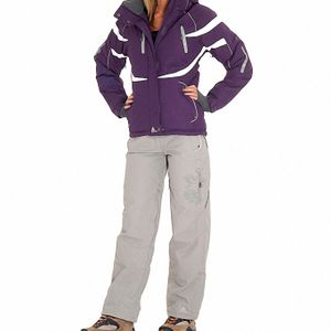 Ski alpin femme PEAK MOUNTAIN Peak Mountain   Ensemble de ski ACIAL   violet