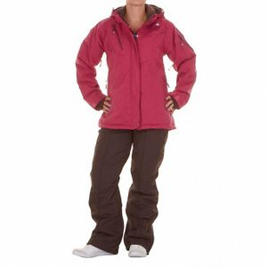 Ski alpin femme PEAK MOUNTAIN Peak Mountain   Ensemble de ski AZLY   Fushia/marron