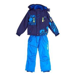 Ski alpin garçon PEAK MOUNTAIN Peak Mountain   Ensemble de ski ESLALOM    marine/bleu