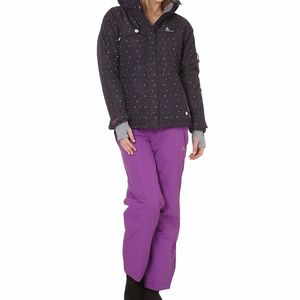 Ski alpin femme PEAK MOUNTAIN Peak Mountain   Ensemble de ski AVIM noir/violet