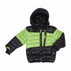 Ski alpin garçon PEAK MOUNTAIN SRK   Doudoune garçon 3/8 ECAPTIN noir/vert