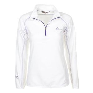 Ski alpin femme PEAK MOUNTAIN Peak Mountain - Sweat polaire femme AFINE-blanc