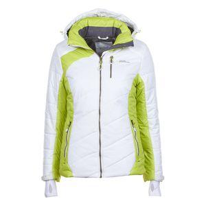 Ski alpin femme PEAK MOUNTAIN Peak Mountain - Doudoune de ski femme ACILORG-blanc/vert