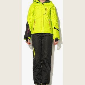 Ski alpin femme PEAK MOUNTAIN Peak Mountain - Ensemble de ski AMIC-anis/noir