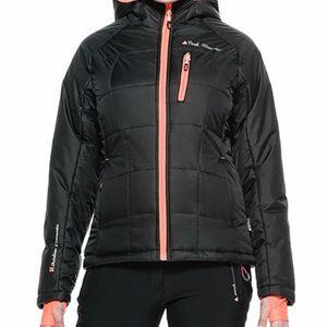 Ski alpin femme PEAK MOUNTAIN Peak Mountain - Blouson de ski femme ACEPEAK-noir/orange