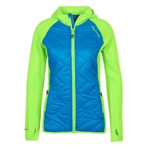 Ski alpin femme PEAK MOUNTAIN Peak Mountain - Blouson polar shell bi-mati�re femme ACERLA-bleu/vert