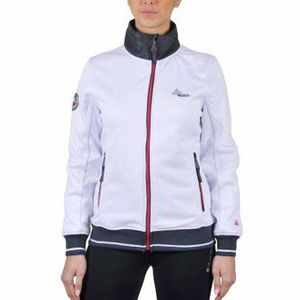 Ski alpin femme PEAK MOUNTAIN Peak Mountain - Sweat polaire femme ACREEN-blanc