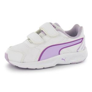 Multisport fille PUMA Baskets Puma B?b? Fille White and Lavender