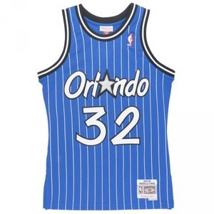 Basketball adulte MITCHELL AND NESS Maillot NBA Shaquille O'neal Orlando Magic 1994-95 Mitchell & ness swingman Hardwood Classic Bleu taille - S