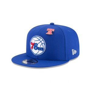 Mode- Lifestyle adulte NEW ERA Casquette NBA Philadelphia Sixers New Era Draft 2018 Snapback 9fifty Bleu