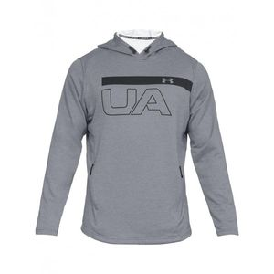 sweat capuche under armour mk1 terry graphic hoodie gris. Black Bedroom Furniture Sets. Home Design Ideas