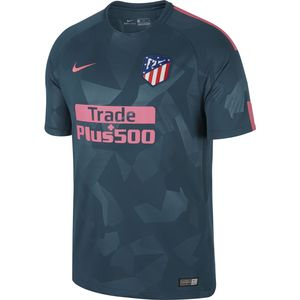 MAILLOT Football homme NIKE Nike Maillot Atletico Madrid Third 2017-18 Bleu Maillot Club Homme Football